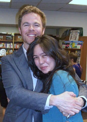 Josh Ritter and Me :) :) :)